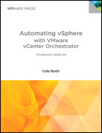 Automating vSphere with vCenter Orchestrator Book Cover